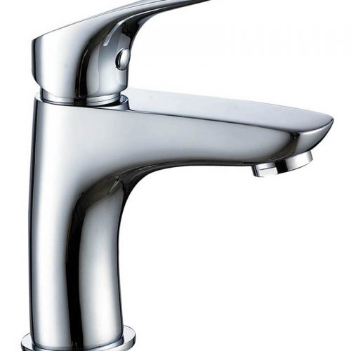 Just Taps Plus Rize basin mixer without waste RZ108