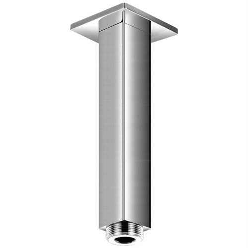 Saneux Short Square 158mm Shower Ceiling Arm