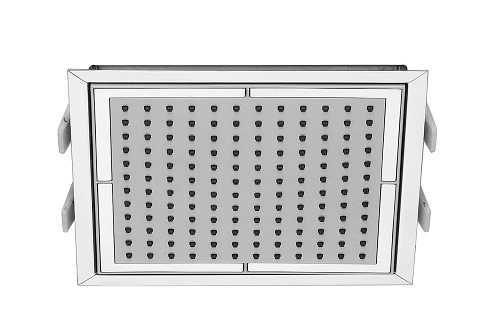 Saneux 224 x 224mm built-in ceiling shower head S1022