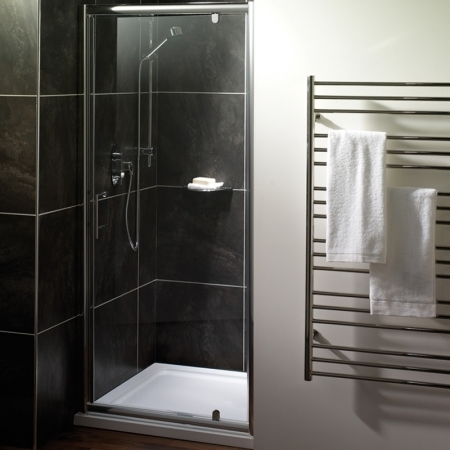 Saneux Wosh 76cm Pivot Shower Door S1999