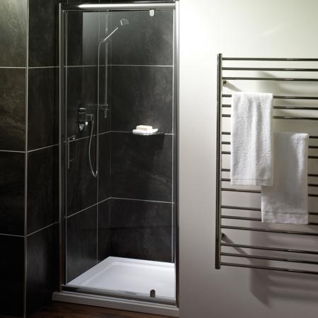Saneux Wosh Pivot 100cm Shower Door S2020