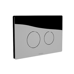 Saneux FLUSHE 2.0 Chrome Round Flush Plate FP110 -0