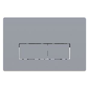 Saneux FLUSHE 2.0 Chrome Square Flush Plate FP120-0