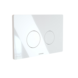 Saneux FLUSHE 2.0 FP111 White Round Flush Plate-0