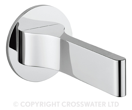 Crosswater Svelte Bath Spout Wall Mounted SE0370WC
