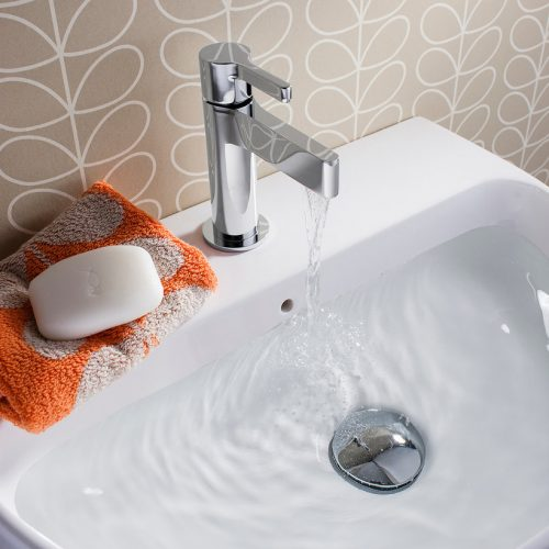 Crosswater Svelte Basin Mini Mono With No Waste SE114DNC