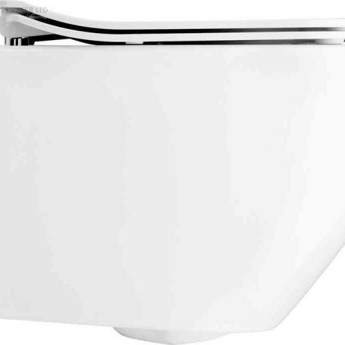 Bauhaus Svelte White Wall Hung Toilet Pan ONLY SE6006CW
