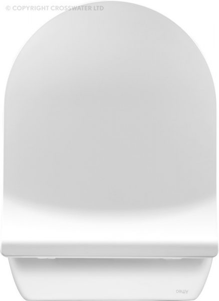 Crosswater Svelte Platinum Back to Wall Toilet Pan ONLY SE6007CP