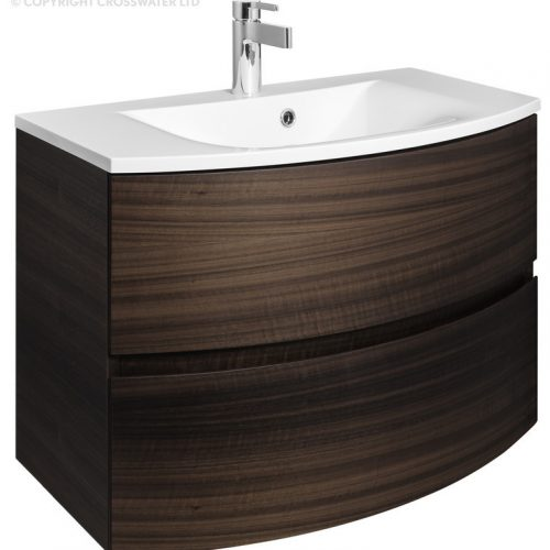 Bauhaus Svelte 80 Unit and Basin Eucalyptus SE8000DEC SE0811SRW