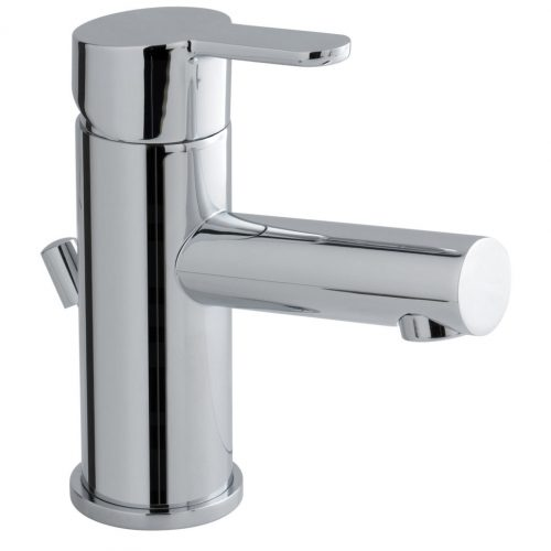 Vado Sense mono basin mixer tap with waste SEN-100-C/P
