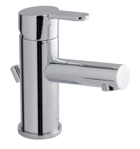 Vado Sense mono basin mixer tap with waste SEN-100-C/P