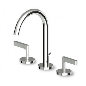Zucchetti Simply Beautiful 3H Basin Mixer ZSB5412