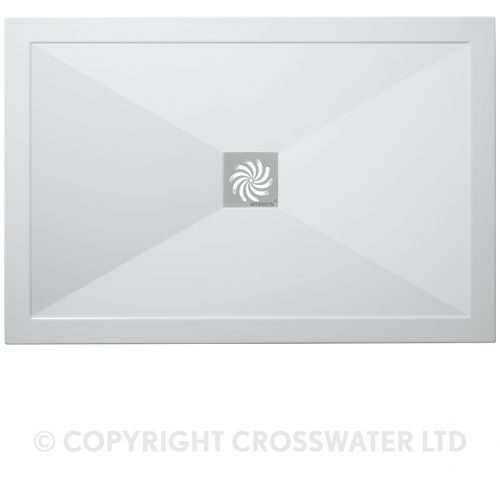 Crosswater Rectangular Tray 800 x 1200 25mm SL0R81200