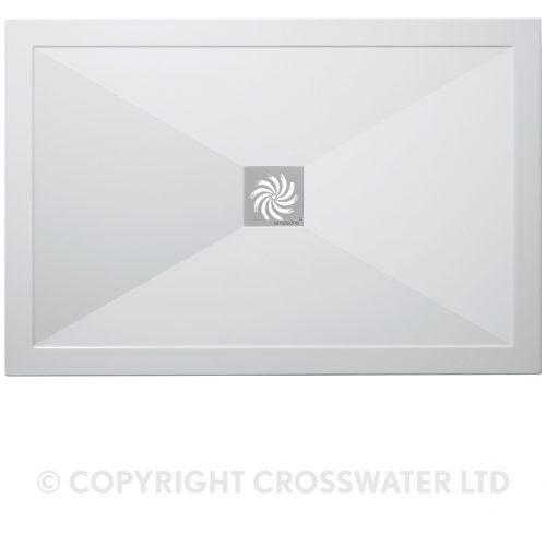 Crosswater Rectangular Tray 800 x 1400 25mm SL0R81400