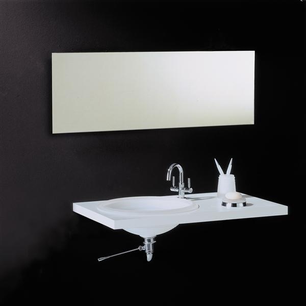 Slim Rectangular 80 Mirror 800 x 1000mm VE88069