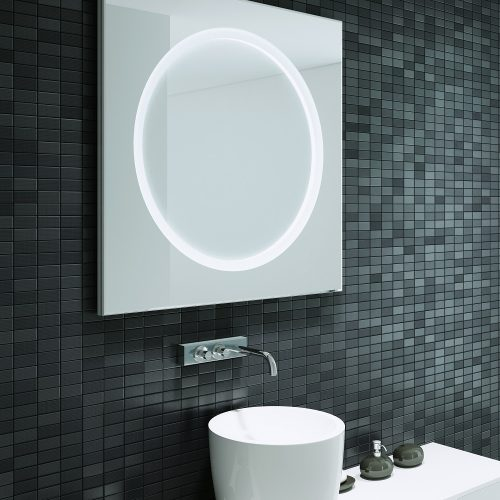 Solar 80 Illuminated LED Bathroom Mirror B004662-0