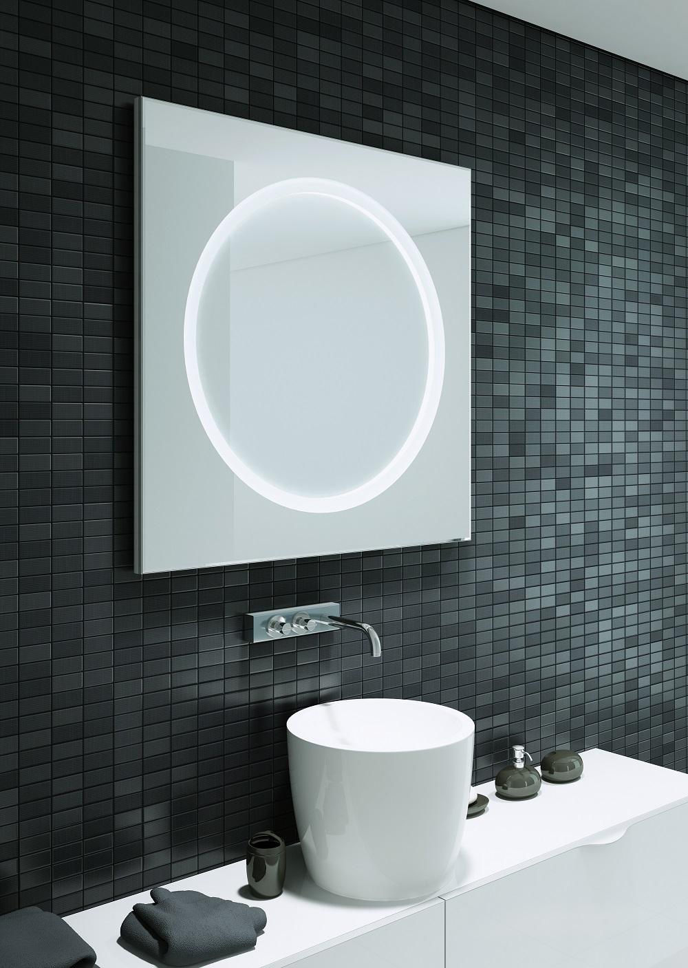 Solar 65 Illuminated LED Bathroom Mirror B004655-0