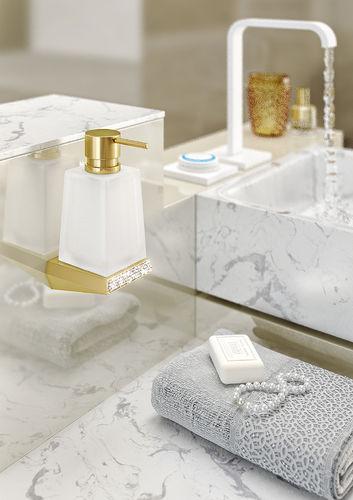 Sonia S8 Swarovski Crystals 34cm Soap Dispenser 165032 Gold