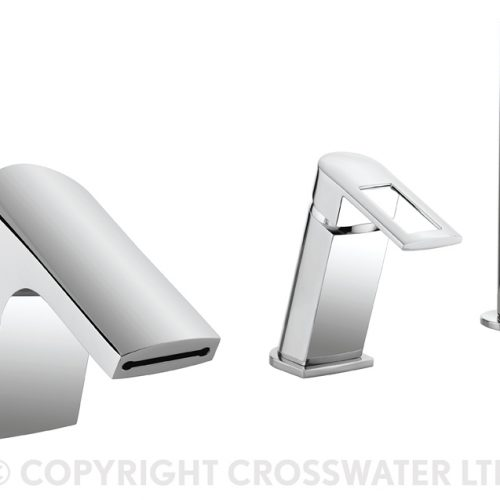 Crosswater Slip Bath Shower Mixer with Diverter SP421DC