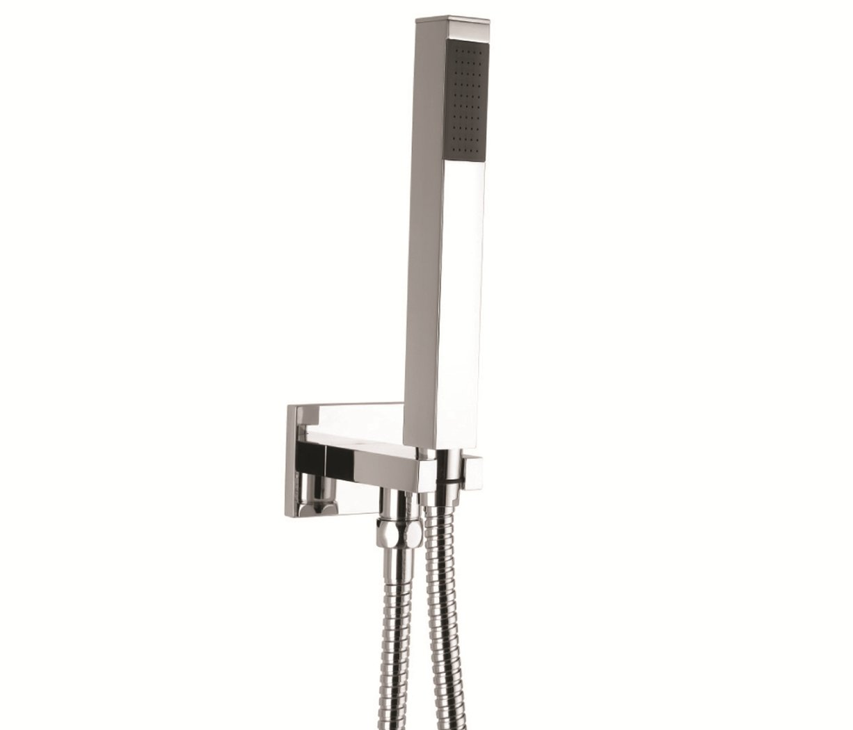 Just Taps Plus SQ Water Outlet And Holder With Hose SQUAREWS