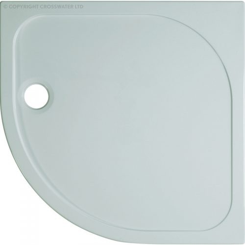 Crosswater 800mm x 800mm x 45mm Quad Stone Resin Shower Tray