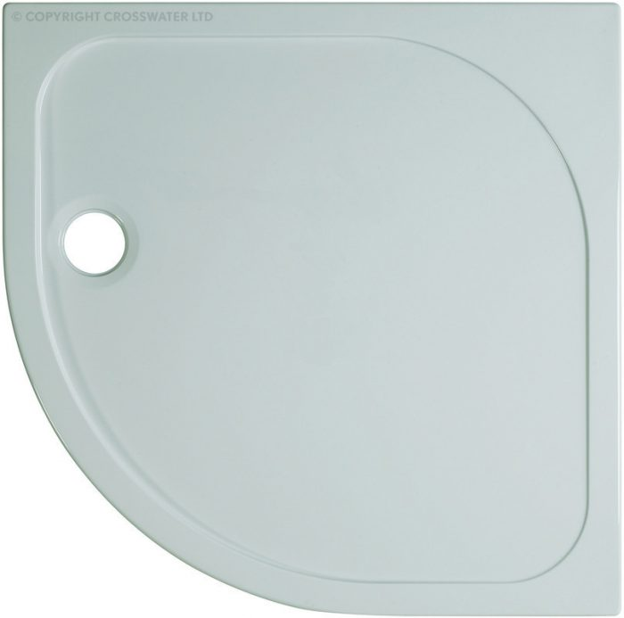 Simpsons 900mm x 900mm x 45mm Quad Stone Resin Shower Tray