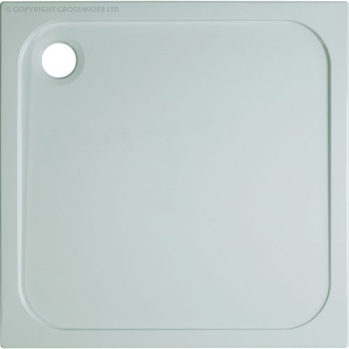Crosswater 760mm x 760mm x 45mm Stone Resin Shower Tray