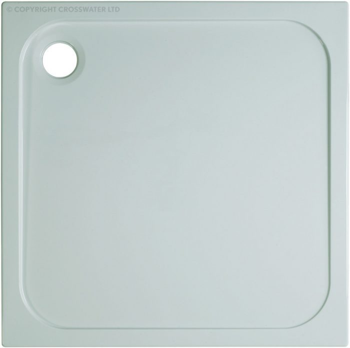 Simpsons 900mm x 900mm x 45mm Stone Resin Shower Tray