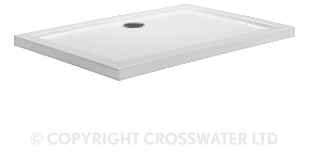 Crosswater 1200mm x 800mm x 45mm Stone Resin Shower Tray