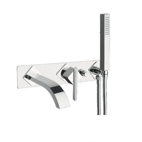 Just Taps Plus Conc Bath Mixer And Spout And Kit ST18236