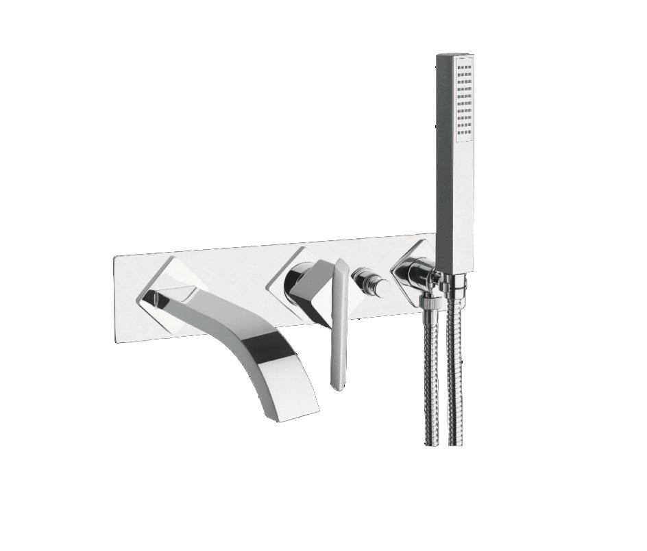 Just Taps Plus Conc Bath Mixer And Spout And Kit ST18236