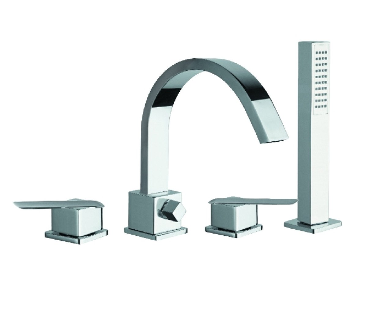Just Taps Plus Deck Bath And Shower Mixer and Kit ST18271