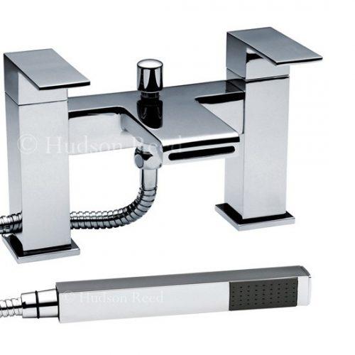 Hudson Reed Chrome Strike Bath Shower Mixer STR314