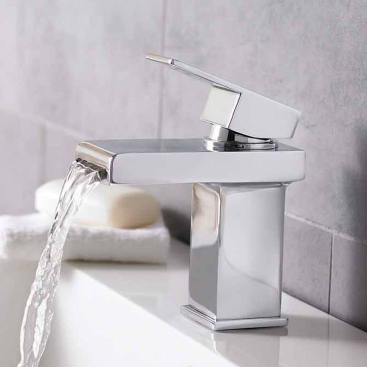 Hudson Reed Strike Mono Basin Mixer Without Waste STR315