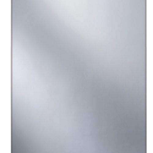 Straight 70 Bathroom Mirror with Glass Shelf Ledge B004846