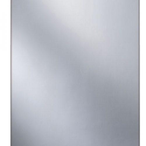 Straight 70 Bathroom Mirror with Glass Shelf Ledge B004846