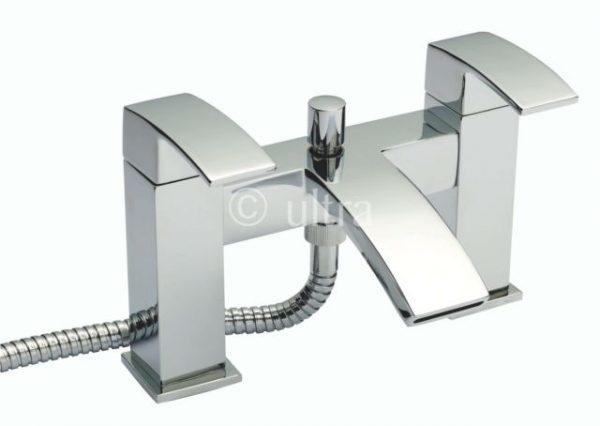 Premier Vibe Bath Shower Mixer With Kit And Bracket VIB304