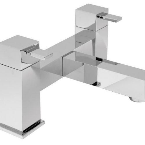 Vado Te 2 hole bath filler deck mounted TE-137-C/P
