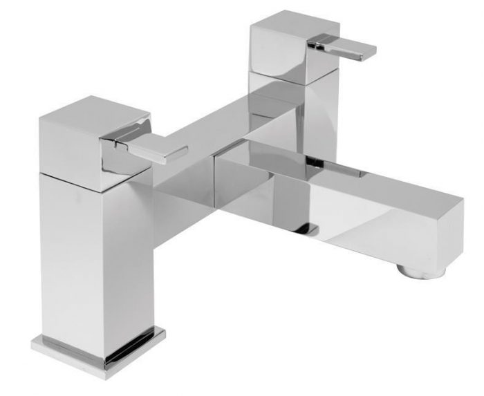 Vado Te 2 hole bath filler deck mounted TE-137-C/P