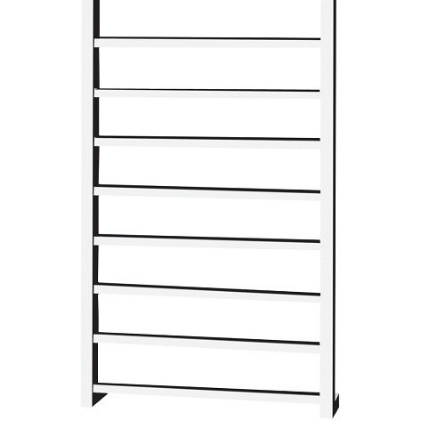 Saneux 1000 x 600mm electric square towel rail TE-7320