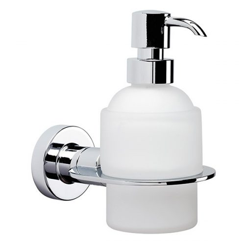 Tecno Project Soap Dispenser Frosted Glass Chrome 118281