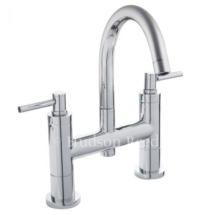 Hudson Reed Tec Lever Bath Filler With Small Spout TEL353