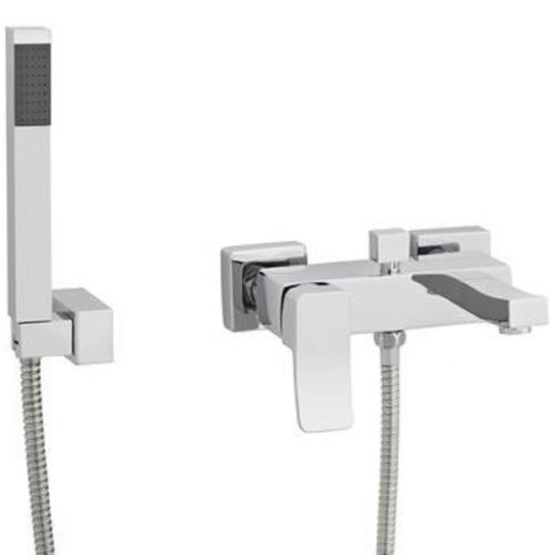 Premier Chrome Ethic Wall Mounted Bath Shower Mixer TET304