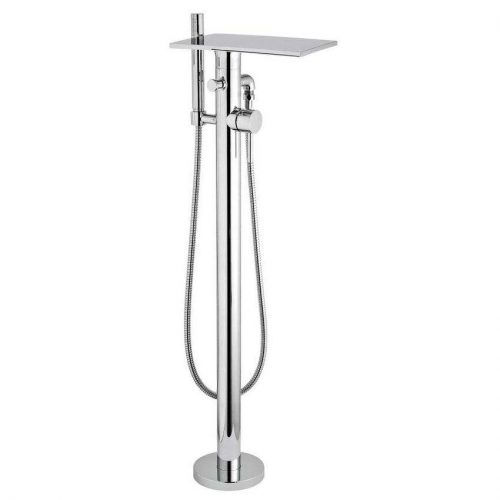 Hudson Reed Chrome Freestanding Bath Shower Mixer TFR362