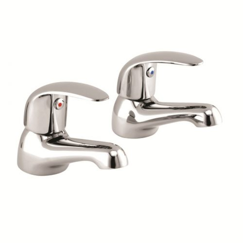 Just Taps Plus Topmix Basin Taps (Pair), LP 0.2 Tm001