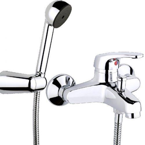 Just Taps Plus Topmix Bath Shower Mixer With Kit TM122WM