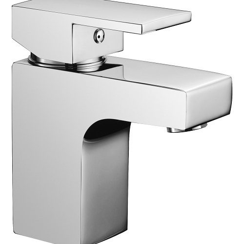 Saneux Tooga Square Small Mini Basin Mixer Tap TO001