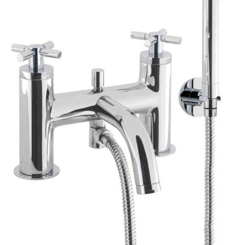 Crosswater Totti BATH SHOWER MIXER-KIT DECK MOUNT TO422DC