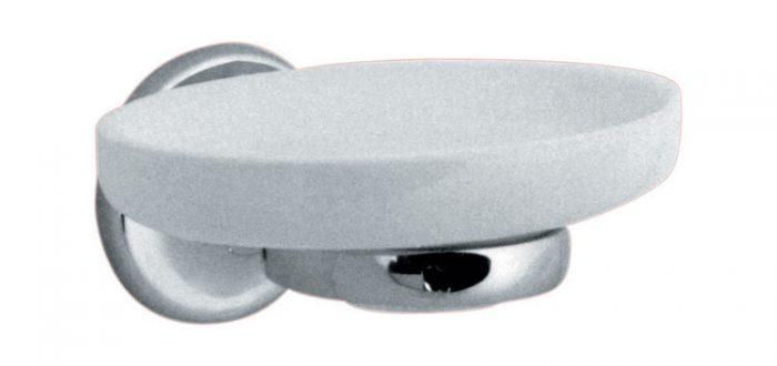 Vado Tornament ceramic soap dish with holder TOU-182A-C/P