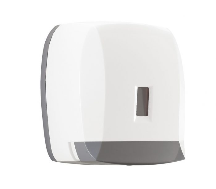 Touch 1L Wall Mounted Basin Soap White Dispenser 2089-02-0